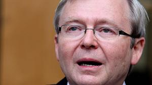 Kevin Rudd's tearful resignation