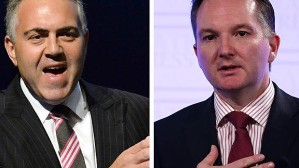Joe Hockey and Chris Bowen - the would-be Treasurers go head-to-head